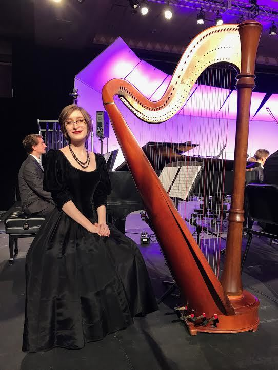 Senior Alice Statham, a harpist, is among the best