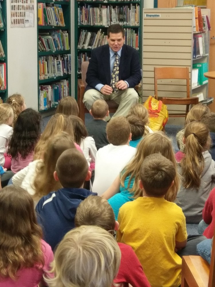 Jay Paterno Guest Reader