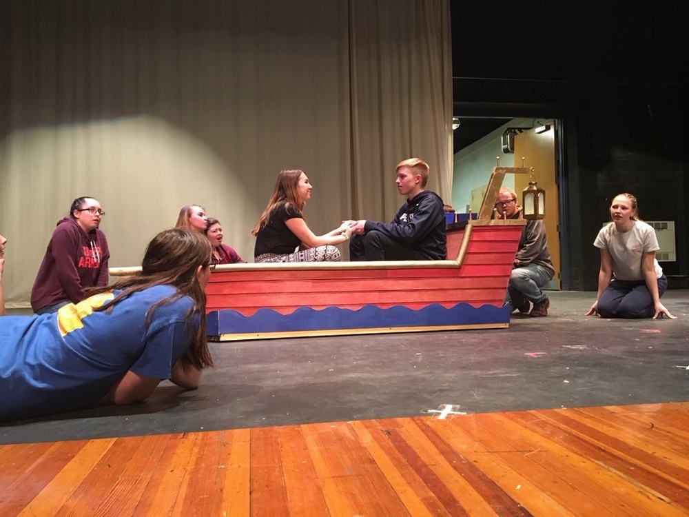 Students prepare for spring musical 'The Little Mermaid'