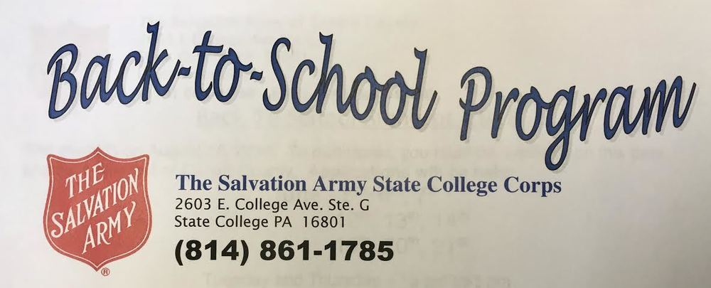 Salvation Army's Back-to-School program
