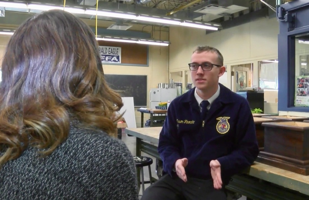 BEA, FFA student earns national recognition