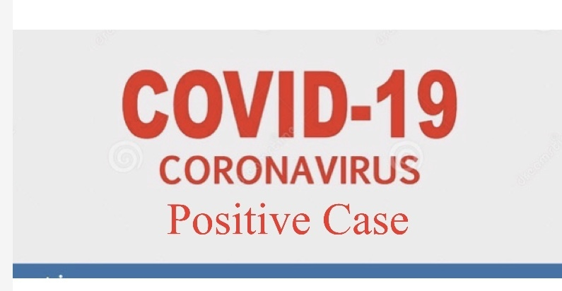 Positive Covid 19 Case at High School 12-8-20