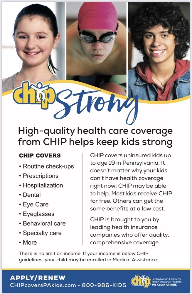 PA Children's Health Insurance Program Annual Information and Annual Public Notice of Special Education Services and Programs, Services for Gifted Students, and Services for Protected Handicapped Students