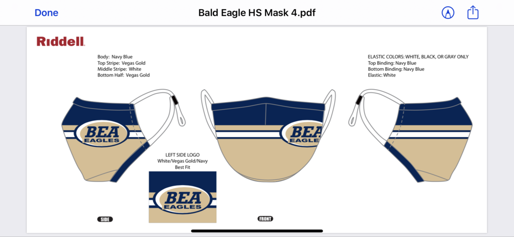 BEA Mask for sale