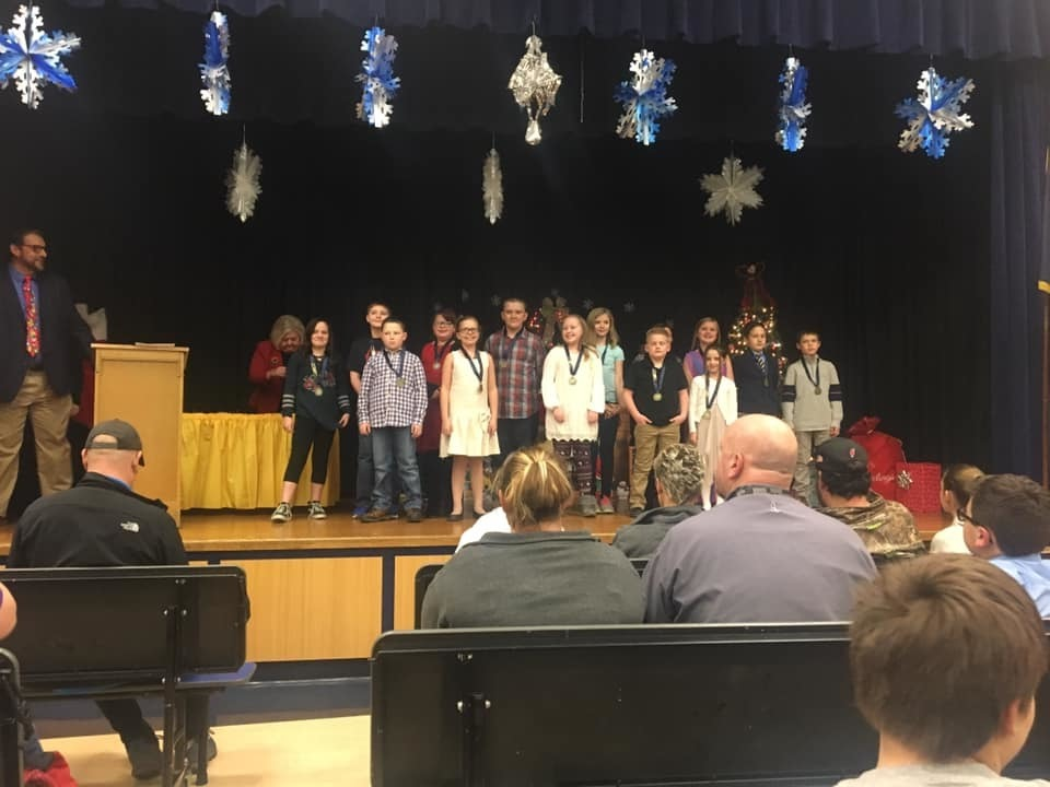 Students honored for excelling on PSSA exams