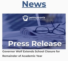 A Message from Governor Wolf