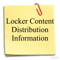 Locker Content Distribution Information