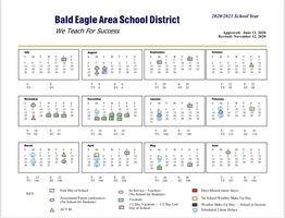 Updated School Calendar 11-23-20