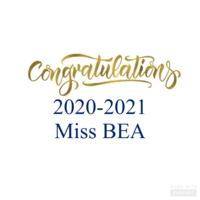 Miss BEA winner is.....