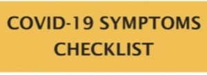 COVID-19 Symptoms Checklist